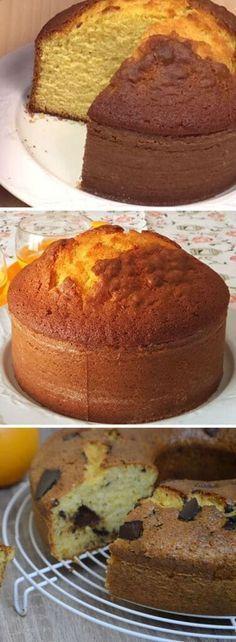 Pan Dulce, Sweet Recipes, Cake Recipes, Dessert Recipes, Cake Cookies, Cupcake Cakes, Orange Sponge Cake, Savoury Cake, Cakes And More