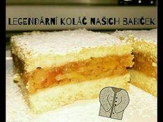 Legendární jablečný koláč Baking Videos, High Sugar, Sweet Desserts, Apple Pie, Vanilla Cake, Cheesecake, Food And Drink, Gluten, Sweets