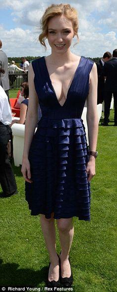 Eleanor Tomlinson - that dress!