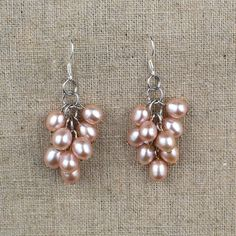 SALE  Sterling Silver Pink Freshwater Pearl by Jewels4Freedom