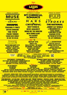 Leeds Festival 2011 I was there!