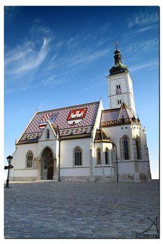 St. Marks church, Zagreb,Croatia by Ankit Khare on 500px