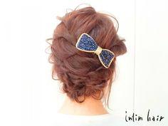 今日のヘアにぴったりなヘアアクセの選び方