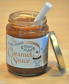 Trader Joes Salted Carmel Sauce - good with gala apples and nuts or for sundaes or eat right out of the jar!