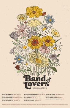 Band of Lovers: Gig Posters — Leguire .You can find Gig poster and more on our website.Band of Lovers: Gig Posters — Leguire . Bedroom Wall Collage, Photo Wall Collage, Collage Art, Wall Art, Room Posters, Band Posters, Poster Wall, Poster Prints, Gig Poster