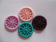 Dorset Buttons Handmade  Custom Colour  You Choose by Bigbluebed, $16.00