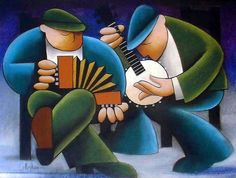 """Session"" by George Callaghan (pastel)"