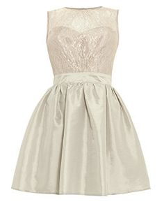 Elise Ryan Gold Lace Prom Dress Now £25.00 Read more at http://www.newlook.com/shop/womens/dresses/elise-ryan-grey-lace-cut-out-taffeta-prom-dress_262070301#iR5PtyiMbXxZOtks.99