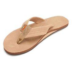 6847270b3e6 Rainbow Women s Premier Leather Single Layer Sandal - Sierra Brown