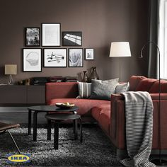 Getting your dream living room does not have to be hard. The IKEA 2017 Catalogue will provide you with very simple steps which you need to follow in order to freshen up and personalize your space.