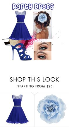 """""""Party Dress"""" by bestgirl321 ❤ liked on Polyvore featuring Monsoon and Giuseppe Zanotti"""