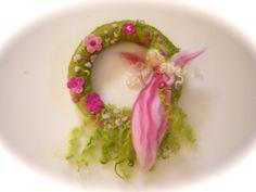 Fairy Wreath Felted Waldorf  Elf Summer wreath  Felted by FilzArts, $39.50