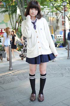kyary in a uniform ^^♥ get spooky ♥ School Uniform Fashion, Japanese School Uniform, School Uniform Girls, Girls Uniforms, Japanese Fashion Trends, Japanese Street Fashion, Asian Fashion, Girl Fashion, Pretty Little Girls