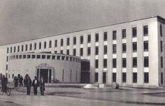 Dunaújváros   SZTK rendelő Sztálinvárosban Budapest, Louvre, History, City, Buildings, Travel, Google, Viajes, Historia