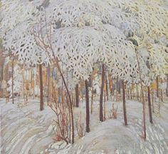 tom thomson-snow-in-october. A definite possibility here in Minnesota