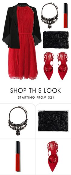 """""""Valentines with Popmap 65"""" by deeyanago ❤ liked on Polyvore featuring Givenchy, Bobbi Brown Cosmetics, Jean-Michel Cazabat and reddress"""