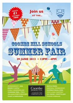 Fun Poster Templates 8 Best Summer Fair Images On Pinterest  Design Posters Poster .