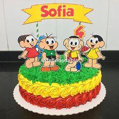Bolo Turma da Mônica Simples de chantilly e enfeites de papel Panda Party, Birthday Parties, Birthday Cake, Diy Birthday Decorations, Paper Cake, Fiesta Party, Love Craft, Girl Cakes, Pretty Cakes