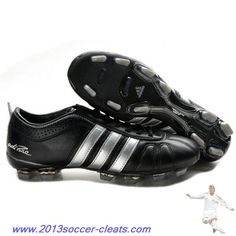 the best attitude 233e7 034cd Authentic Adidas Adipure IV Trx FG Cleat Black Silver Football Boots Soccer  Boots, Soccer Cleats
