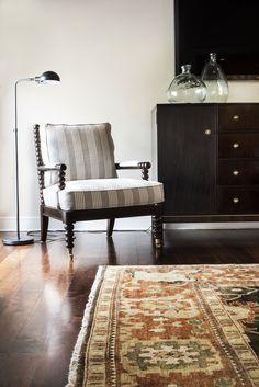 Hickory Chair. Living Room. Side chair.  Design // Austin Bean Design Studio Photography // Melissa Lukenbaugh