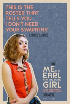 cinema de novo: Novos pôsteres: Me and Earl and the Dying Girl Cinema Posters, Film Posters, I Love Cinema, Incredible Film, Life Moves Pretty Fast, Girl Film, The Best Films, Film Books, Indie Movies