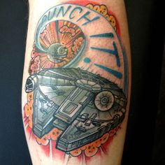 Star Wars tattoo by Adam Guy Hays