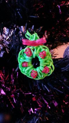 Loom wreath