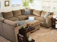 Luxurious beautiful leather sofas for home interior design