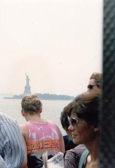 Lidia a New York e Statua della Libertà
