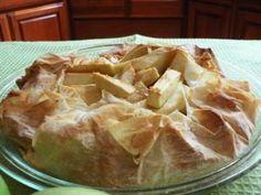 Apple Phyllo Pie - Fiona Haynes
