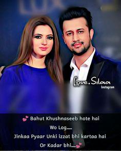 True Love Quotes, Romantic Love Quotes, Amazing Quotes, Sad Quotes, Qoutes, Hindi Quotes, Love Shayri, Atif Aslam, Love Facts
