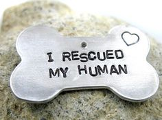 Many a good person has truly been rescued by having a dog in their life... including me