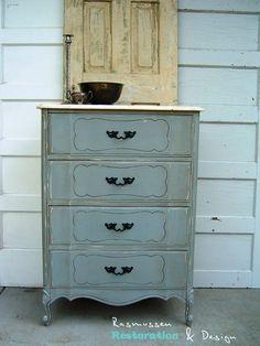 Rasmussen Restoration Design Beautiful Vintage Style Dresser