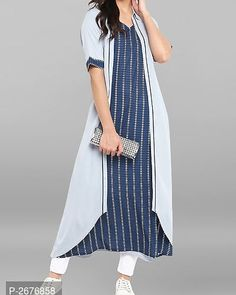 India Fashion, Fashion Studio, Half Sleeves, Kurti, Casual Wear, Street Wear, Fashion Photography, Fashion Dresses, Short Sleeve Dresses