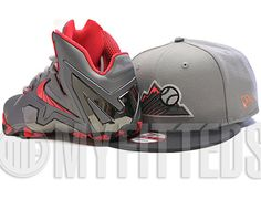 Custom Rockies New Era 9Fifty Snapback Cap To Match Lebron XI Elite