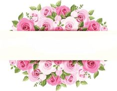 Pink watercolor flower borders, Flower Borders, Creative Border, Border Material PNG Image and Clipart Pink Roses, Pink Flowers, Paper Flowers, Flower Backgrounds, Flower Wallpaper, Flower Clipart, Floral Border, Flower Frame, Vintage Flowers