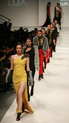 The AmareSinh FW11 collection by designer Huy Tran at Shanghai Fashion Week 2011. Check out http://AmareSinh.com