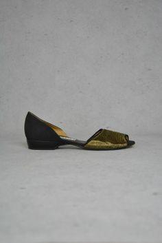Goldige Peep Toes von Casadei online kaufen - Grösse 37.5 - Marke Casadei   Vintage-Fashion Online Shop fürs Verkaufen und Kaufen