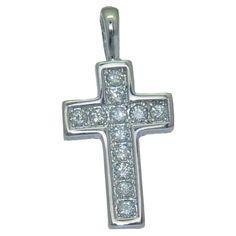 0.36 cttw. Diamond Cross https://www.goldinart.com/shop/necklaces/diamond-necklaces/0-36-cttw-diamond-cross