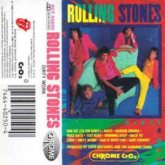 The Rolling Stones - Dirty Work: buy Cass, Album at Discogs