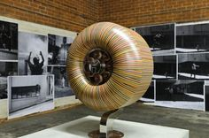 New Recycled Skateboard Deck Sculptures by Haroshi wood skateboarding sculpture recycling