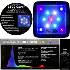 AquaBeam Coral Colour Plus Aquarium LED