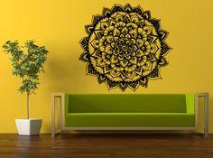Wall Room Decor Sticker Mural Decal Flower Of Life Mandala Sun Big Large L506 #3M