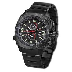 MTM SPECIAL OPS Black Cobra Military Watches
