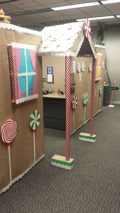 My Office Cubicle For A Contest I Won All Hand Made