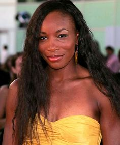 Venus Williams Long Hairstyles