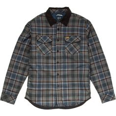 RVCAFrostline+Insulated+Flannel+Jacket+-+Men's