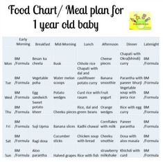 Indian food menu for 10 month old baby best food 2017 11 months baby meal planner my little moppet forumfinder Choice Image