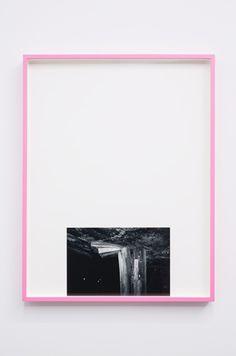 Martha Friedman . thin edge of the wedge IV, 2012