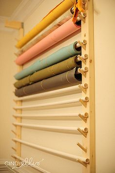 New photography studio organization backdrop storage craft rooms ideas Sewing Room Organization, Studio Organization, Craft Room Storage, Fabric Storage, Diy Storage, Storage Ideas, Organization Ideas, Craft Rooms, Wall Storage